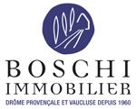 logo agence boschi immobilier