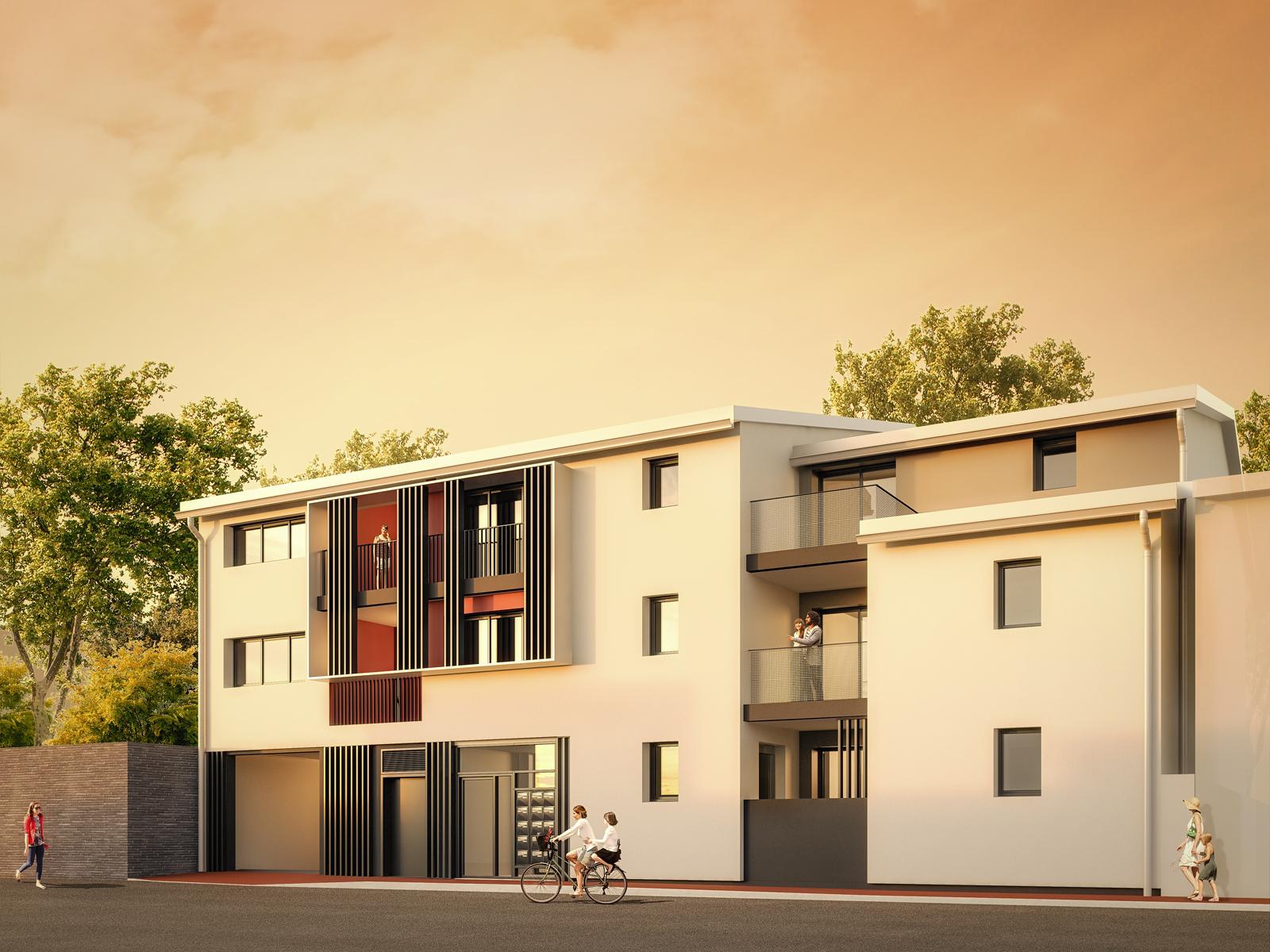 13 appartements en plein coeur de Boutonnet