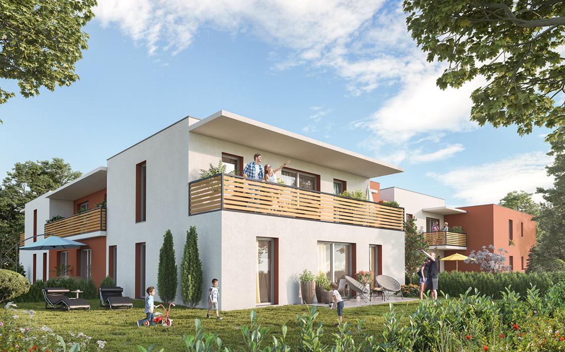 Nouvelle résidence à Montpellier au calme et dans la verdure