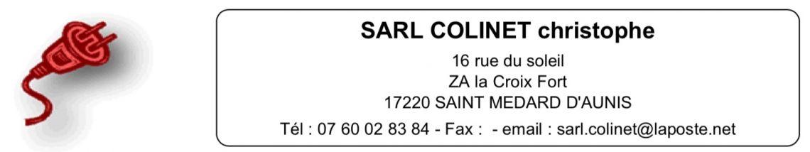SARL COLINET - ELECTRICITE ET DOMOTIQUE
