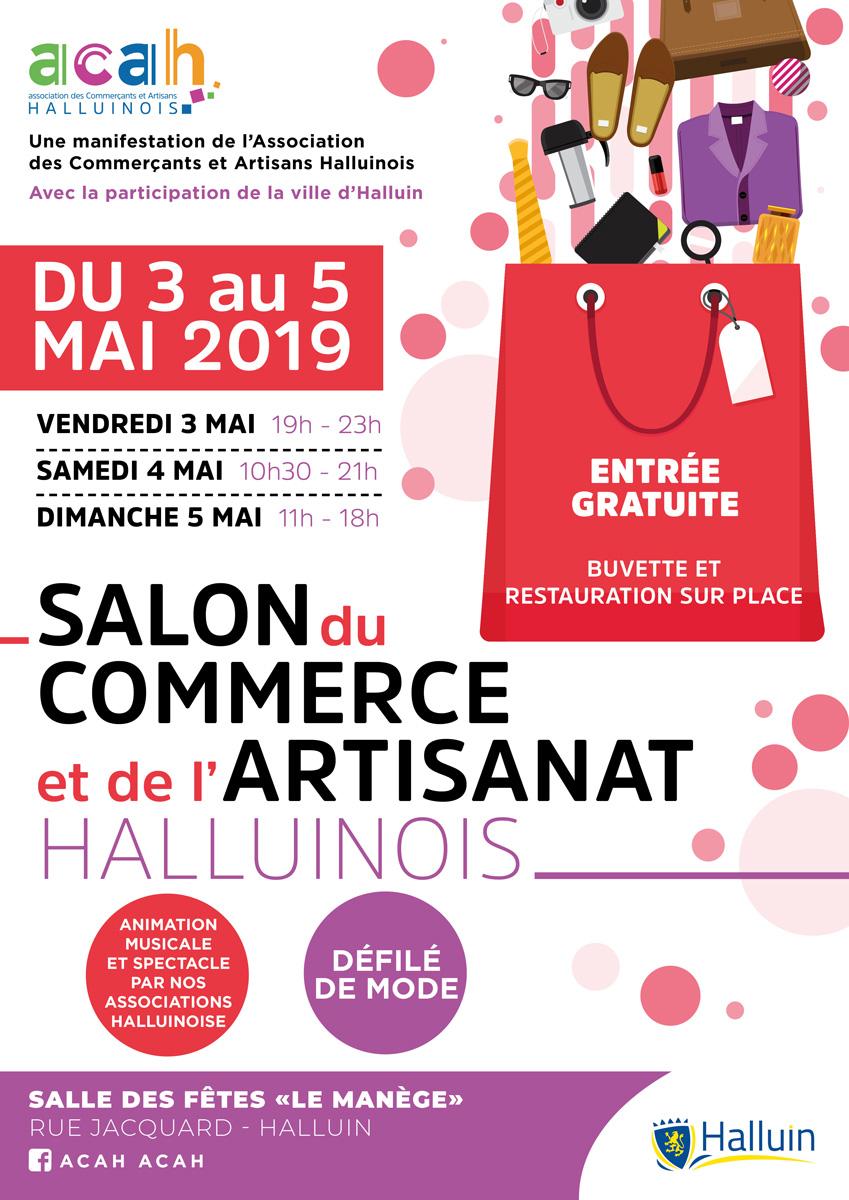 SALON DES COMMERCANTS ET ARTISANS HALLUINOIS du 3 au 5 mai 2019