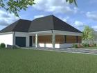 À vendre maison et terrain 100 m²