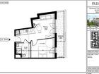 Vente appartement T2 36.61 m²