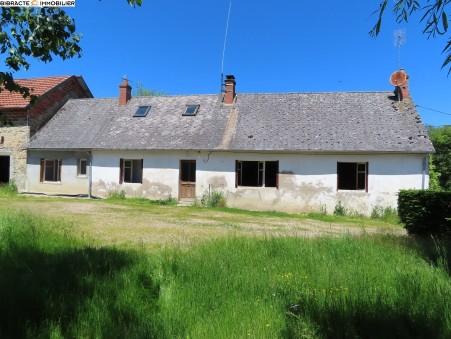 vente maison CHARBONNAT 110m2 100000€