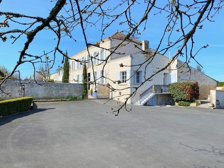 Maison 500000 € sur Berneuil (17460) - Réf. SG1927