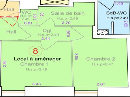 vente appartement LYON 5EME ARRONDISSEMENT 27.3m2 145000€