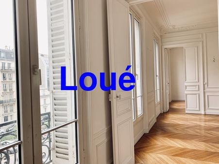 Location appartement Paris 17eme Arrondissement 75017; 3990 €