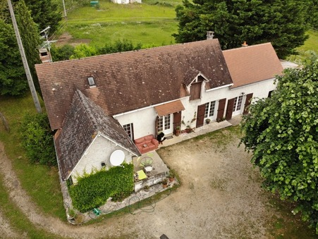 vente maison ROUFFIGNAC ST CERNIN DE R 100m2 189800€