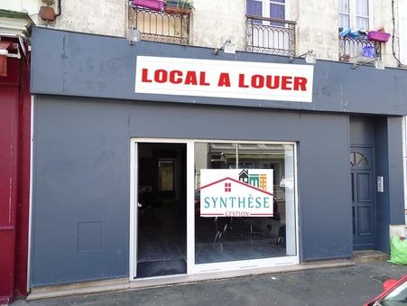 Local 835 €  sur Rochefort (17300) - Réf. SG1962