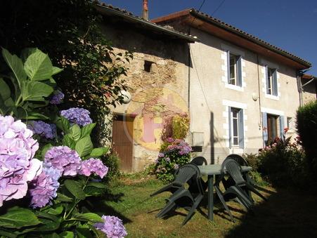 vente maison CUSSAC 92m2 84240€