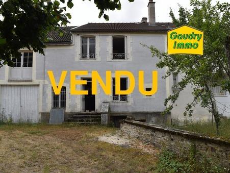 vente maison VAUX SOUS AUBIGNY 115m2 79000€