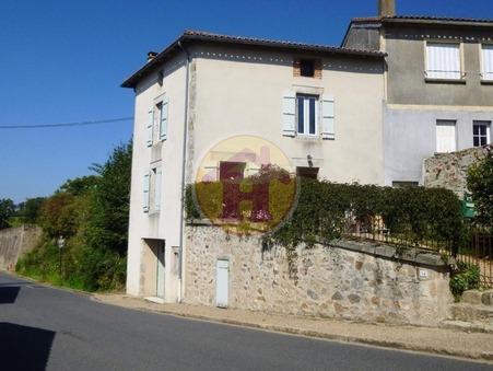vente maison BRIGUEUIL 57m2 75600€