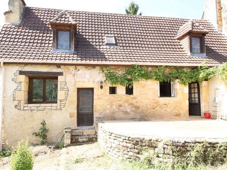 vente maison AUBAS 100m2 77700€