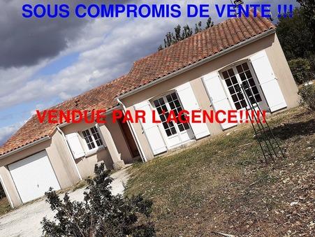 vente maison CHAMPNIERS 81m2 137280€