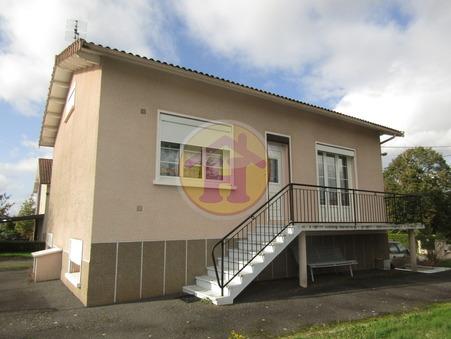 vente maison ROCHECHOUART 82m2 123050€