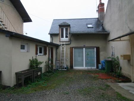 vente maison Saint-Honoré-les-Bains 60m2 49000€