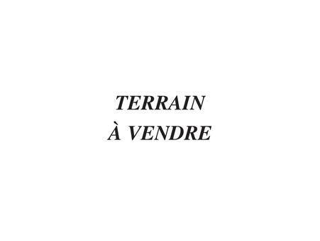terrain  54000 €