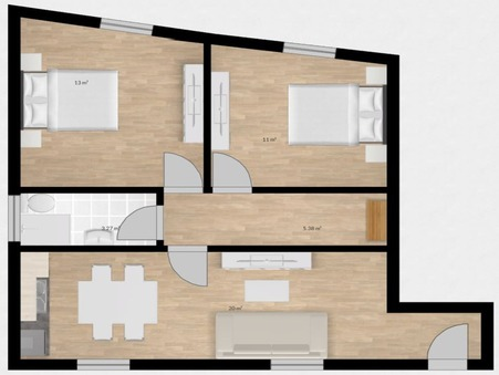 Achat apartment Chamalieres Réf. A0789