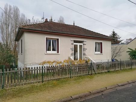 Maison sur Lunery ; 101000 € ; A vendre Réf. 7113