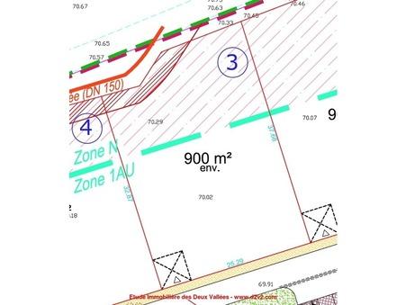 Terrain sur Fismes ; 90000 €  ; Vente Réf. 8907