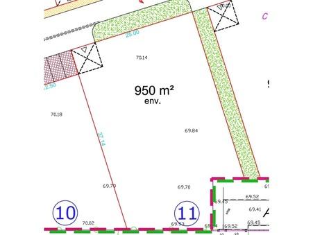 Terrain sur Reims ; 105000 €  ; Achat Réf. 8911