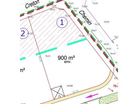 Terrain 89000 €  sur Thillois (51370) - Réf. 8906