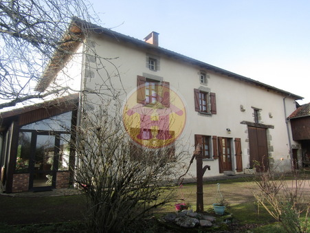 vente maison PRESSIGNAC 161m2 196100€