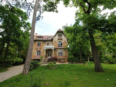 vente maison LE VESINET 300m2 2590000€