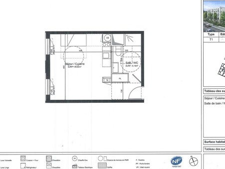 appartement  117300 €