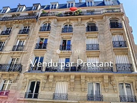 vente appartement PARIS 16EME 66.7m2 834000 €