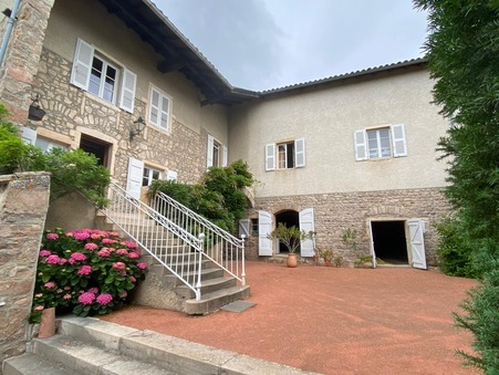 vente maison FLEURIE 310m2 385000€