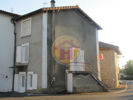 vente maison CHABANAIS 118m2 43600€