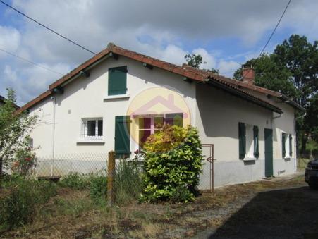vente maison CHABANAIS 80m2 97200€