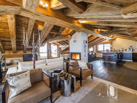 Chalet sur Courchevel ; 4500000 € ; A vendre Réf. 15-15