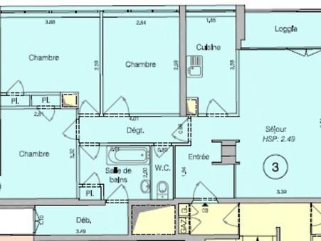 vente appartementMASSY 75.5m2 0€