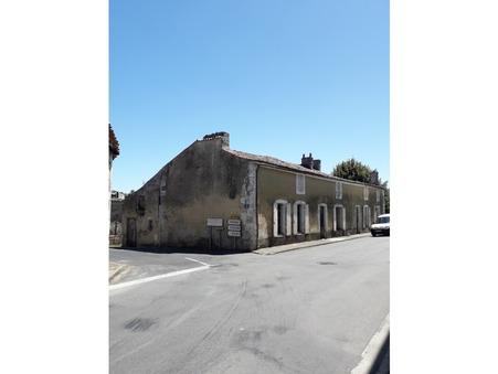 Vente maison 69000 € Saintes