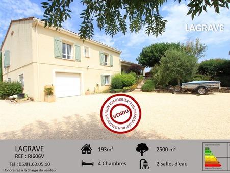Vente maison 387000 €  Marssac sur Tarn