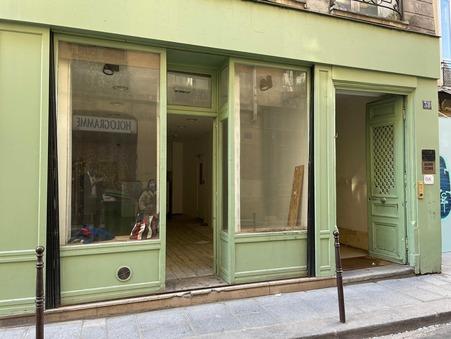 Commercial space € 1400  sur Paris 3eme Arrondissement (75003) - Réf. 312