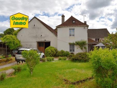 vente maison BAISSEY 124m2 46000€