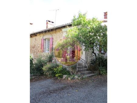 vente maison LESTERPS 74m2 54000€