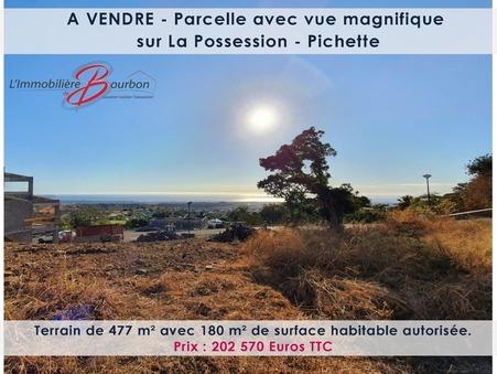 Terrain 202570 €  sur La Possession (97419) - Réf. 3622020