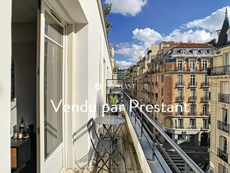 vente appartement PARIS 16EME 86.47m2 1180000 €