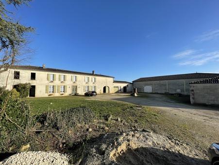 Maison 525000 € sur Gemozac (17260) - Réf. SG1876