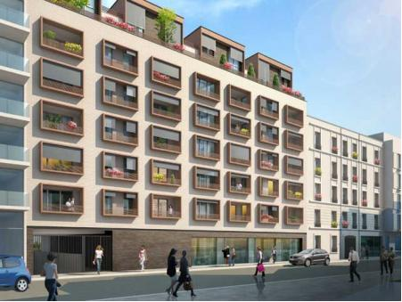 Vente Neuf Paris 19eme arrondissement Réf. BOUYGUES 004  - Slide 1
