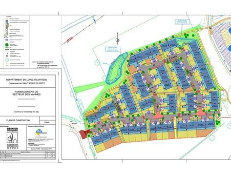 Vente terrain SAINT PERE EN RETZ 55 698  €