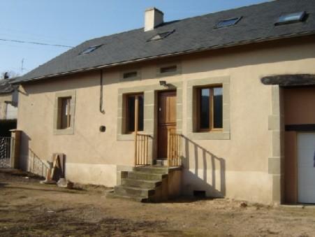vente maison Anost 120m2 138000€