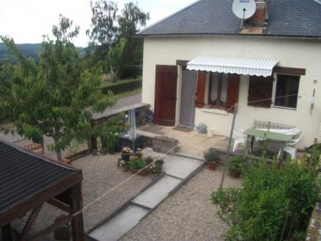 vente maison CUSSY EN MORVAN 80m2 88000€