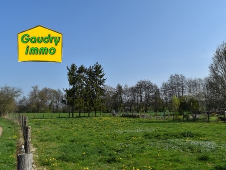 Vente terrain POUILLY SUR VINGEANNE 1445 m² 33 000  €