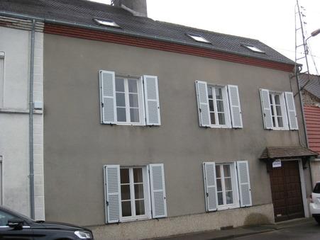 vente maison TOULON SUR ARROUX 140m2 75500€