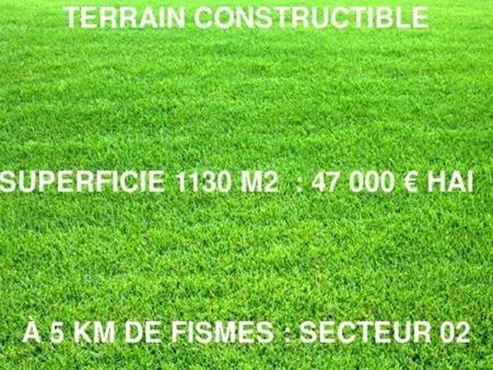 Vente Terrain BAZOCHES SUR VESLES Réf. 8645 - Slide 1